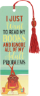 Just Want to Read Beaded Bookmark Cover Image