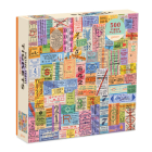 Vintage Travel Tickets 500 Piece Puzzle Cover Image