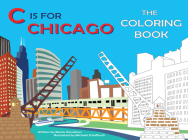 C Is for Chicago: The Coloring Book Cover Image