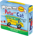 Pete the Cat 12-Book Phonics Fun!: Includes 12 Mini-Books Featuring Short and Long Vowel Sounds (My First I Can Read) Cover Image
