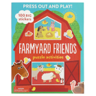 Farmyard Friends: Puzzle Activities Cover Image