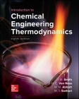 Introduction to Chemical Engineering Thermodynamics Cover Image