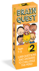 Brain Quest 2nd Grade Q&A Cards: 1000 Questions and Answers to Challenge the Mind. Curriculum-based! Teacher-approved! (Brain Quest Decks) Cover Image
