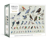 Sibley Backyard Birding Puzzle: 1000-Piece Jigsaw Puzzle with Portraits of Favorite North American Birds : Jigsaw Puzzles for Adults (Sibley Birds) Cover Image