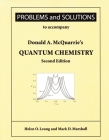 Problems and Solutions to Accompany McQuarrie's Quantum Chemistry Cover Image