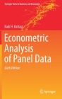 Econometric Analysis of Panel Data (Springer Texts in Business and Economics) Cover Image