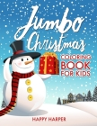 Jumbo Christmas Coloring Book Cover Image