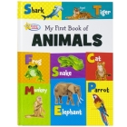 My First Book of Animals: Active Minds Reference Series Cover Image