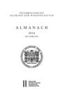 Almanach Der Akademie Der Wissenschaften / Almanach 168. Jahrgang 2018 Cover Image