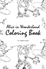 Alice in Wonderland Coloring Book for Young Adults and Teens (6x9 Coloring Book / Activity Book) Cover Image