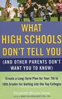 What High Schools Don't Tell You (And Other Parents Don't Want You toKnow): Create a Long-Term Plan for Your 7th to 10th Grader for Getting into the Top Col leges Cover Image