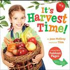 It's Harvest Time!: A Book with Foldout Pages Cover Image