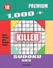 1,000 + Premium sudoku killer 9x9: Logic puzzles easy - medium levels Cover Image