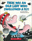 There Was an Old Lady Who Swallowed a Fly! (A Board Book) Cover Image