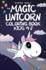 The Magic Unicorn Coloring Book Cover Image
