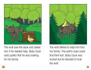 Baby Duck and the Wolf (Rosen Real Readers: Stem and Steam Collection) Cover Image