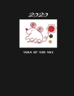 Year of the Rat: 2020 Chinese Zodiac Notebook - Composition Notebook 8.5x11 inches 110 Pages Wide Ruled Lined Paper for Men, Women, Tee Cover Image