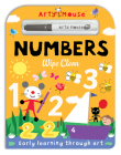 Arty Mouse Wipe Clean Numbers Cover Image