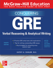 McGraw-Hill Education Conquering GRE Verbal Reasoning and Analytical Writing, Second Edition Cover Image