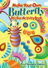 Make Your Own Butterfly Sticker Activity Book (Dover Little Activity Books) Cover Image