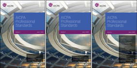 AICPA Professional Standards, 2020, Volumes 1 - 3 Cover Image