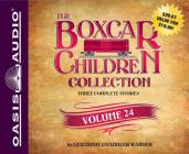 The Boxcar Children Collection Volume 24 (Library Edition): The Mystery of the Pirate's Map, The Ghost Town Mystery, The Mystery in the Mall Cover Image