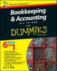 Bookkeeping and Accounting All-In-One for Dummies - UK Cover Image