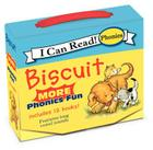 Biscuit: MORE 12-Book Phonics Fun!: Includes 12 Mini-Books Featuring Short and Long Vowel Sounds (My First I Can Read) Cover Image