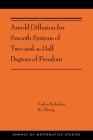 Arnold Diffusion for Smooth Systems of Two and a Half Degrees of Freedom: (Ams-208) (Annals of Mathematics Studies #391) Cover Image
