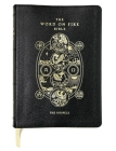 Word on Fire Bible: The Gospels Leather Bound Cover Image