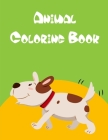 Animal Coloring Book: Funny animal picture books for 2 year olds Cover Image