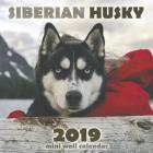 The Siberian Husky 2019 Mini Wall Calendar Cover Image