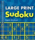 Large Print Sudoku Cover Image