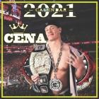 Cena Calendar 2021: John Cena Calendar 2021 16 months 8.5 x 8.5 inch finished & glossy Cover Image