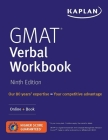 GMAT Verbal Workbook: Over 200 Practice Questions + Online (Kaplan Test Prep) Cover Image