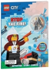 LEGO(R) City: Stop the Fire! (Activity Book with Minifigure) Cover Image