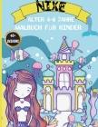 Nixe Malbuch für Kinder von 4-8 Jahren: Magisches Malbuch mit Meerjungfrauen und Meerestieren Cover Image