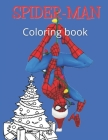 SPIDERMAN Coloring book: Christmas gift for kids / Coloring book for boys ( 3 - 14 years old ), 24 pages, 8.5 * 11 Cover Image