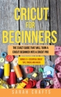 Cricut for Beginners Cover Image