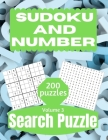 Sudoku And Number Search Puzzle: Large Print Activity Puzzle Book for Adults and Seniors with Solutions Vol 3 Cover Image