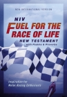Niv, Fuel for the Race of Life New Testament with Psalms and Proverbs, Pocket-Sized, Paperback, Red Letter, Comfort Print: Inspiration for Motor Racin Cover Image
