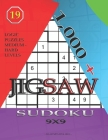 1,000 + sudoku jigsaw 9x9: Logic puzzles medium - hard levels Cover Image