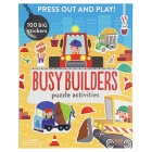 Busy Builders: Puzzle Activities Cover Image