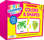First Learning Puzzles: Colors & Shapes Cover Image