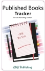 Published Books Tracker for Self-Publishing Authors: Workbook Organizer Logbook Cover Image