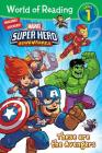 World of Reading Marvel Super Hero Adventures: These are the Avengers (Level 1) Cover Image