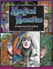 Magical Beauties: A Captivating Coloring Book Cover Image