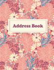 Address Book: Mandala Large Print, 8.5
