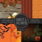 Harvest & Halloween Scrapbook Paper Pad 8x8 Scrapbooking Kit for Papercrafts, Cardmaking, Printmaking, DIY Crafts, Orange Holiday Themed, Designs, Bor Cover Image