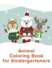 Animal Coloring Book For Kindergarteners: picture books for seniors baby Cover Image